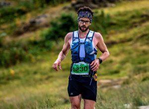 Manol Dimitrov in the Scott Snowdonia Trail Ultra Marathon