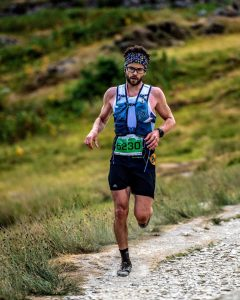 Manol Dimitrov in Scott Snowdonia Ultra Marathon