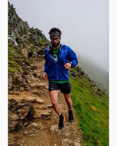Manol Dimitrov training on Snowdon