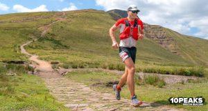 Ollie Stoten in the 10 Peaks Brecon Beacons