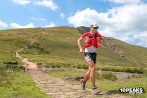 Ollie Stoten braves the 10 Peaks Brecon Beacons Long race