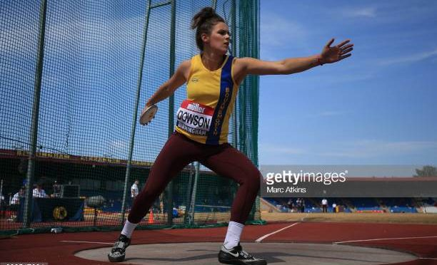 Phoebe Dowson, Discus Bronze Medallist at the British Champs!
