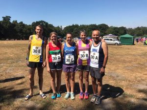 Team Extreme Edwards in Lytchett Relays