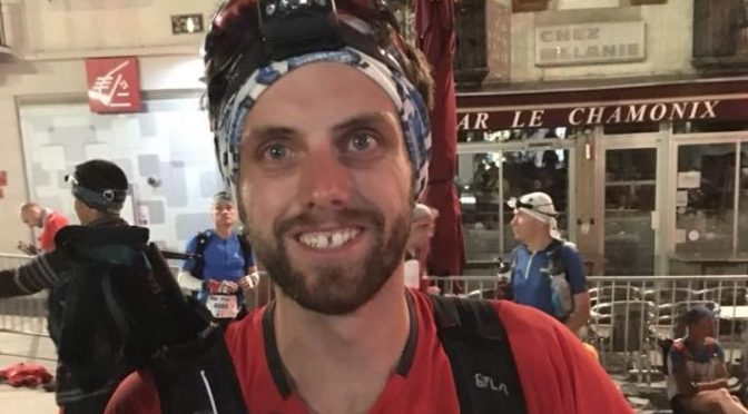 Toby Chapman took on the Mont Blanc 90k