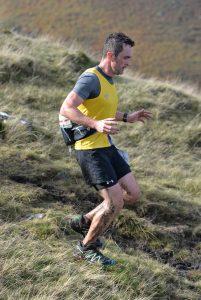 Damien Boyle in the Salisbury 5,4,3,2,1 event 50k
