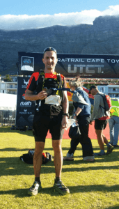 Damian Boyle at the Ultra Trail Cape Town 100k