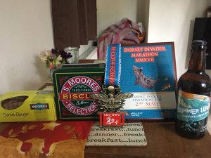 Goodies and prizes from Dorset Invader