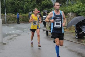 Jud Kirk in the Round the Rock 10k