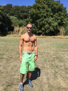 Rich Brawn after Sturminster Newton Half Marathon