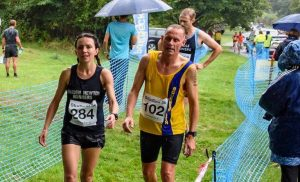 Simon Hearn competed in the Studland 5k