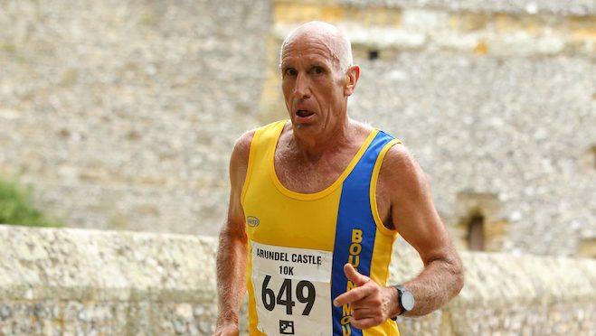 Simon Hunt takes on Arundel 10k