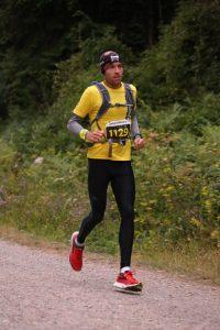 Stu Nicholas in the Midnight Marathon