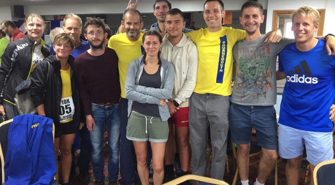Bournemouth AC team for Round the Rock 10k