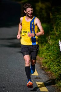 Tom Paskins gives it his all in the Run Killarney Half Marathon