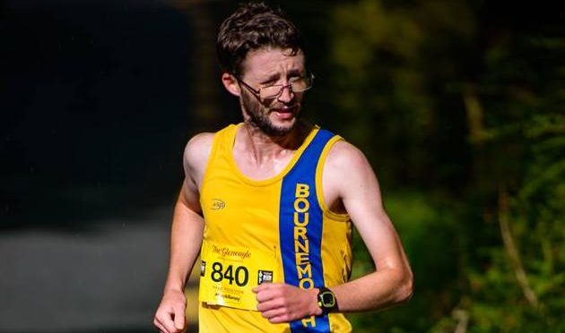 Tom Paskins in the Run Killarney Half Marathon