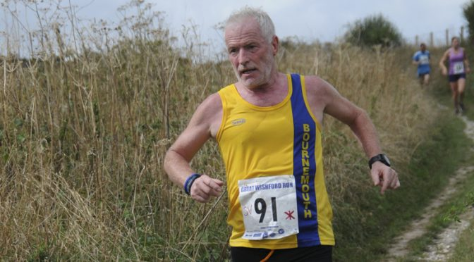 Andy Gillespie takes on the Great Wishford Run 10k