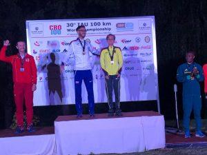 Ant Clark is crowned V40 100k World Champion