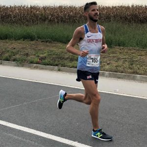 Ant Clark in the zone at 100k World Championships