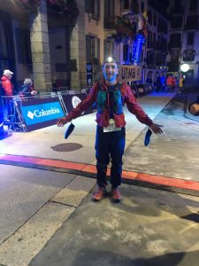 Damian Boyle completes CCC at UTMB