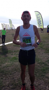 Jacek Cieluszecki is ready for the Purbeck Marathon