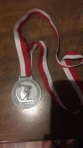 Silver medal from Polish Masters 100k