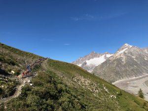 Breathtaking views of Mont-Blanc