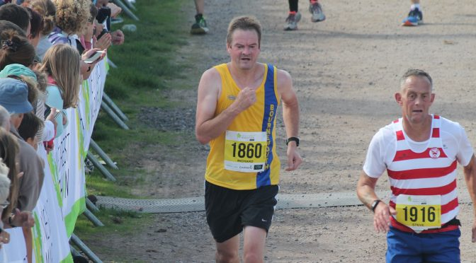 Rich Cannings in the New Forest Half Marathon