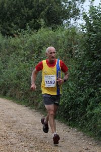 Simon Hunt in the Black Hill 10k