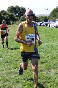 Simon Hunt finishing The Beast