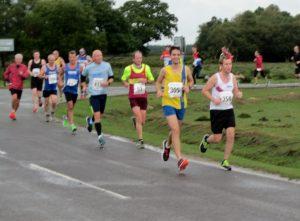 Steve Parsons in Solent Half Marathon