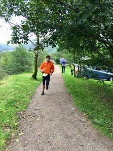 Toby Chapman in the Salomon Ben Nevis Ultra