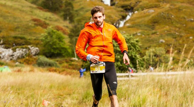 Toby Chapman in the Skyrunning World Champs Ultra
