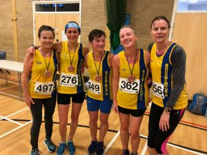 BAC ladies team at Gold Hill 10k