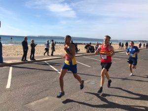 Rich Brawn strides out in BMF Marathon