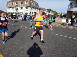 Richard Cannings in Bournemouth Marathon