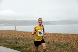 Billy McGreevy in the Gosport Half Marathon