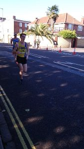 Dave Long in the Great South Run