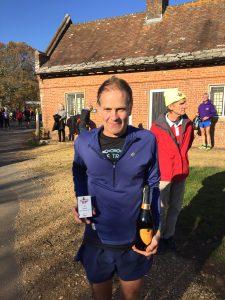 Jud Kirk was 1st MV60 at the Wimborne 10