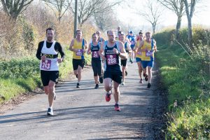 Rich Cannings, Mike, Joy, Steve Parsons and Phil in the Wimborne 10