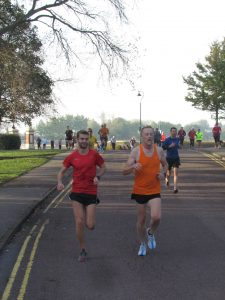 Roy Long at Poole parkrun