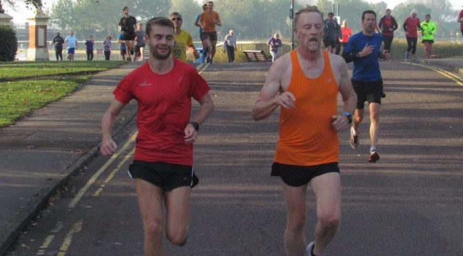 Roy Long took on the Leeds Abbey Dash 10k