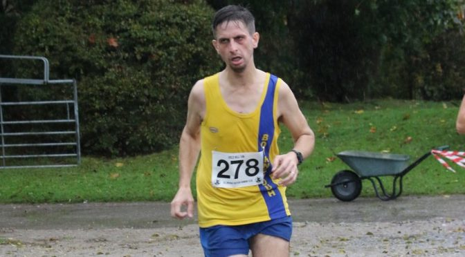 Steve Parsons in the Gilly Hilly race