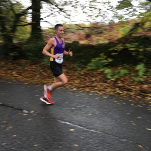 Stu Nicholas in Cornish Marathon