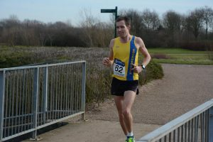 Stu Nicholas in the Week at the Knees Marathon