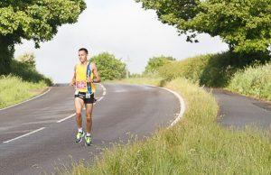 Stu Nicholas in the Dorchester Marathon