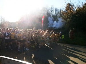 Start of the Wimborne 10