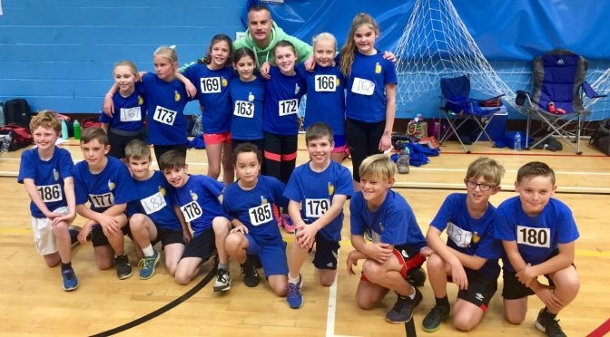 Congratulations to BAC U11 Athletes at the Sportshall Match