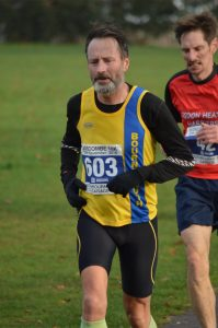 Adrian Townsend in the Boscombe 10k
