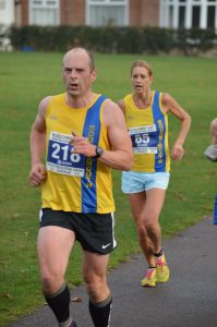 Alex Goulding in the Boscombe 10k