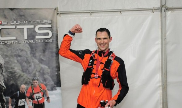 Ben Walliman after completing the CTS Dorset Ultra Plus